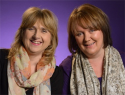 Julie Edwards pictured with Emma