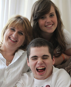 Matt aged 18 with his sister Alice and me!