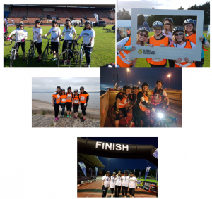 The Knight Riders Edinburgh Night Ride Cycle Challenge